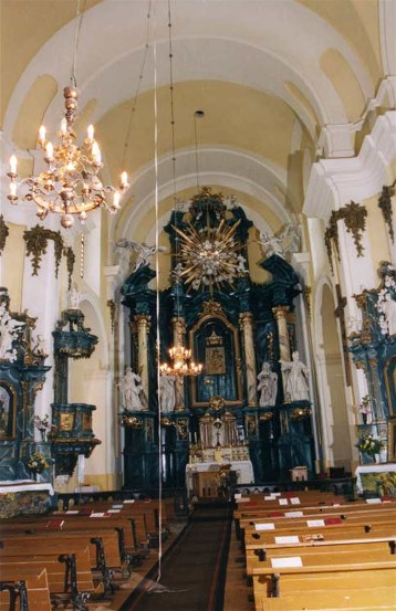 Image - Buchach: the Dormition Church interior.