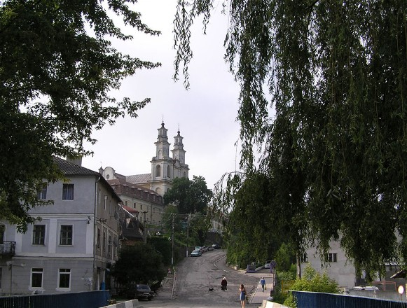 Image - A view of Buchach city centre.