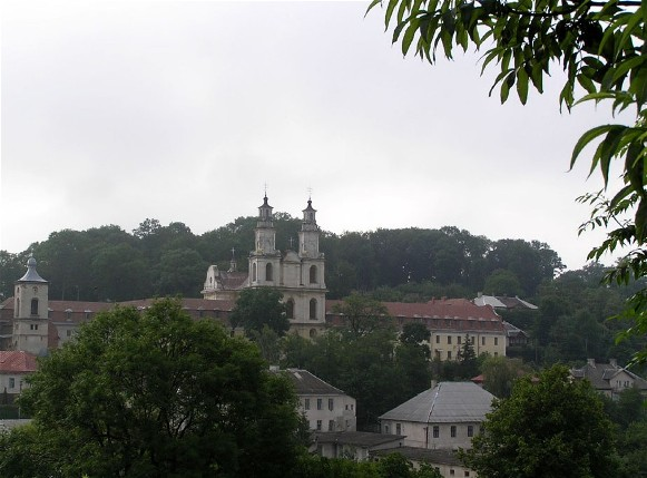 Image - Buchach: panorama with the Basilian monastery.