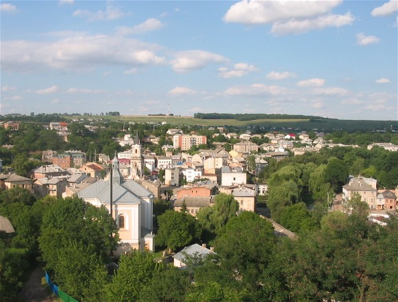 Image - A panorama of Buchach.