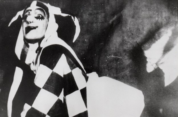 Image - Amvrosii Buchma as the Fool (Porter) in Les Kurbas production of Macbeth in Berezil (1924).