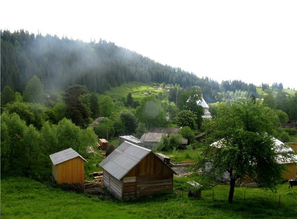 Image - A landscape in Bukovyna.