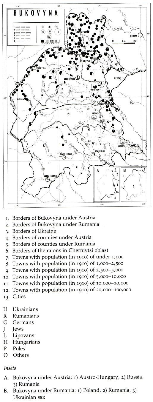 Image -- Map of Bukovyna