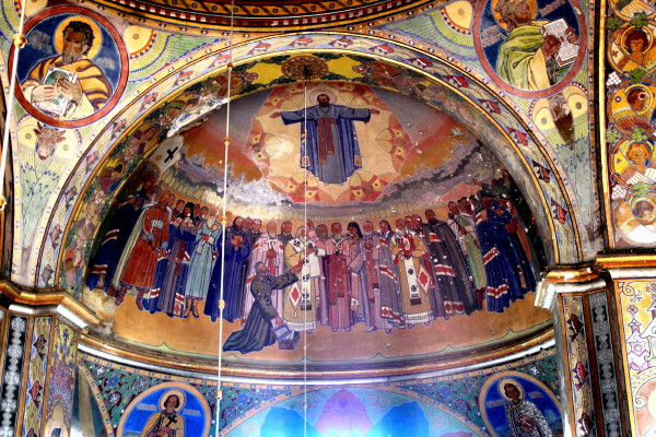 Image - Yuliian Butsmaniuk: Church Union of Berestia (fresco).