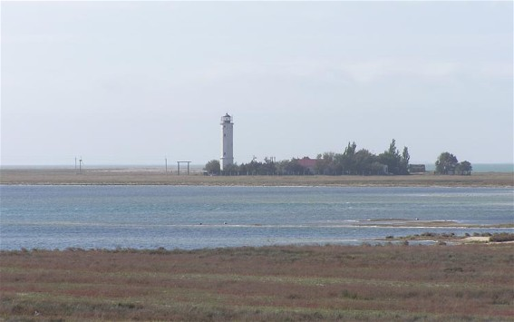 Image - The Byriuchyi Island lighthouse.