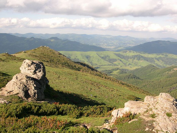 Image - A Carpathian National Nature Park landscape.