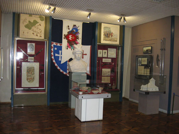Image - Cherkasy Oblast Regional Studies Museum: the Cossack-Polish War exhibit.