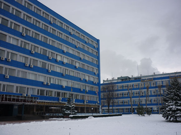 Image -- Cherkasy: The VAT Azot chemical complex.
