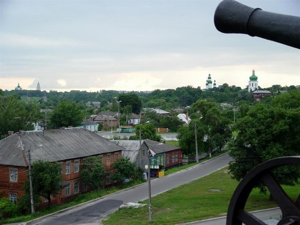 Image -- A panoramic view of Chernihiv from the ramparts.