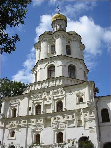 Image - The building of the Chernihiv College (completed in 1702).