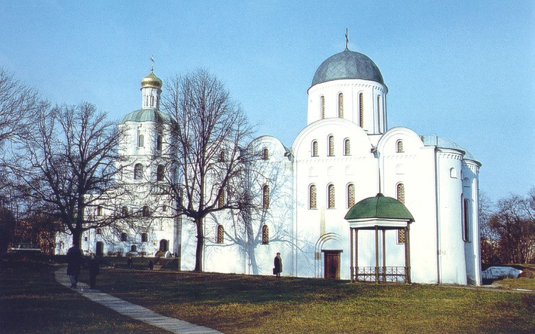 Image - The SS Borys and Hlib Cathedral and the Chernihiv College.