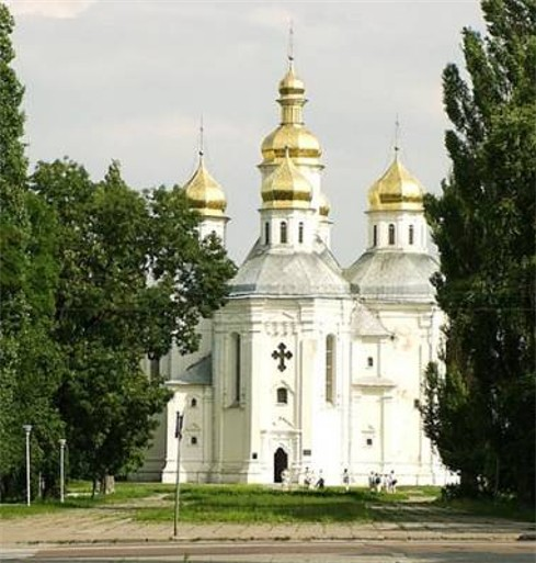 Image - Saint Catherine's Church (17th century) in Chernihiv.