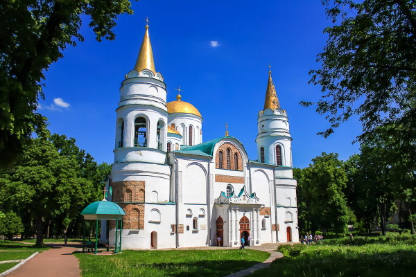 Image - The Cathedral of the Transfiguration in Chernihiv (its construction was begun in 1036).