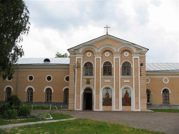 Image - The Church of Saints Peter and Paul at the Yeletsky Monastery in Chernihiv.