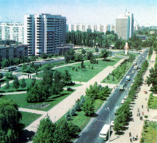 Image - One of the central districts of Chernihiv.