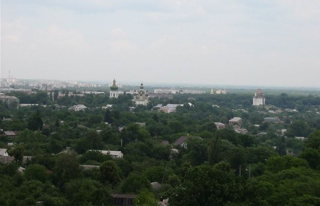 Image - The panorama of Chernihiv from the Trinity-Saint Elijah's Monastery.