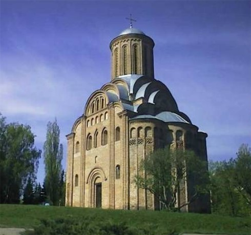 Image - Church of the Good Friday (late 12th--early 13th century) in Chernihiv.