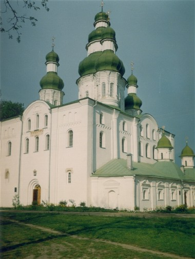 Image - The Cathedral of the Dormition (late 11th century) at the Yeletsky Monastery in Chernihiv.
