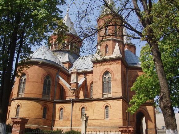 Image - The Armenian church in Chernivtsi.