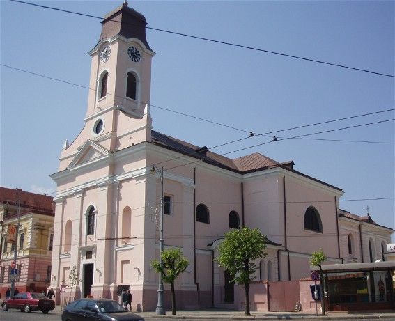 Image - The Roman Catholic cathedral Elevation of the Cross in Chernivtsi.