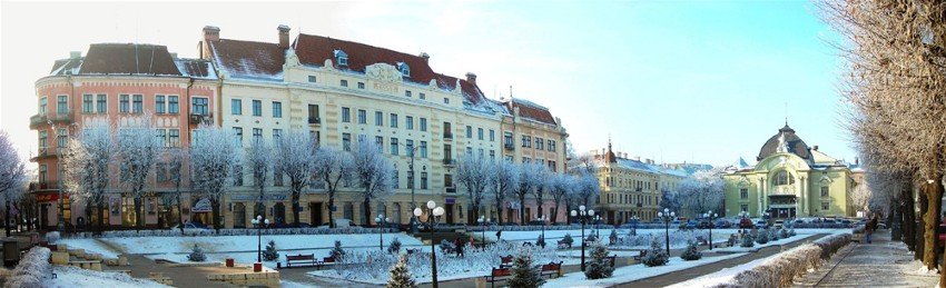 Image - The Theater Square in Chernivtsi.