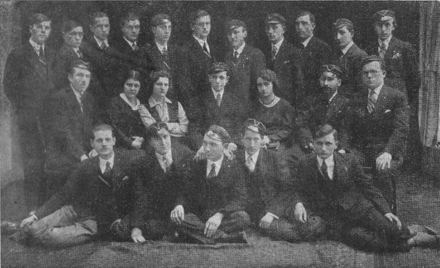 Image - The Chornomore Ukrainian Student fraternity (Cracow 1931).