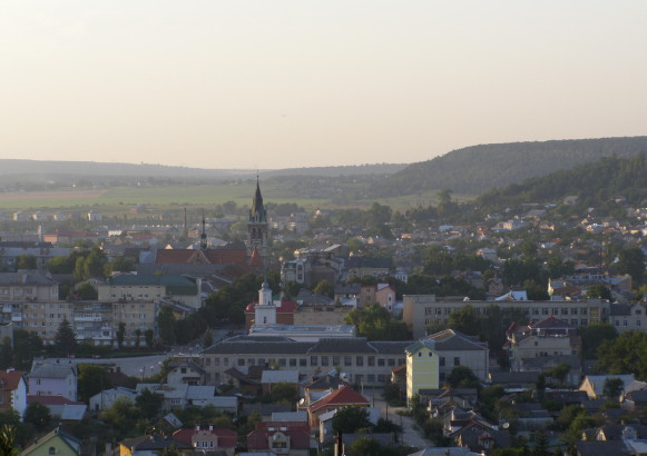 Image -- A view of Chortkiv.