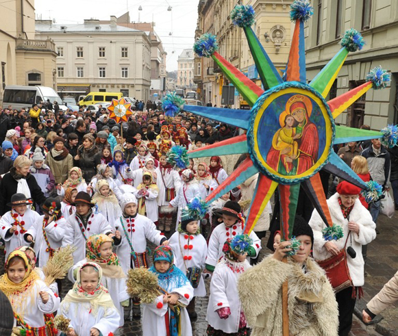 Image - Christmas celebrations in Lviv (2014).