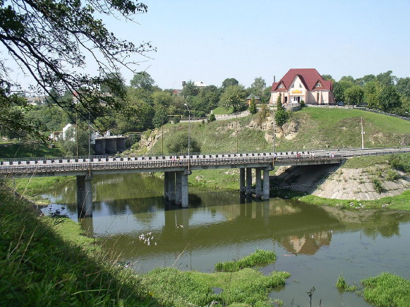 Image - Chudniv, Zhytomyr oblast: Bridge over the Teteriv River.
