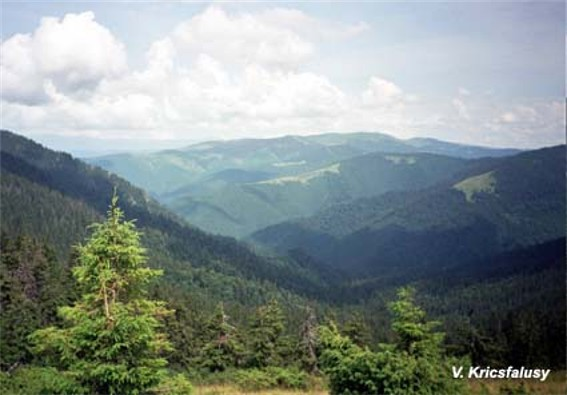 Image - Chyvchyn Mountains landscape