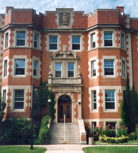 Image -- The Pembina Hall at the University of Alberta, home of the main offices of the Canadian Institute of Ukrainian Studies.