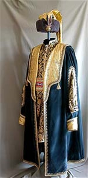 Image - An attire of a Cossack starshyna officer.