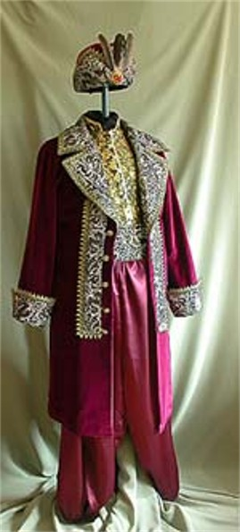 Image -- An attire of a Cossack starshyna officer.