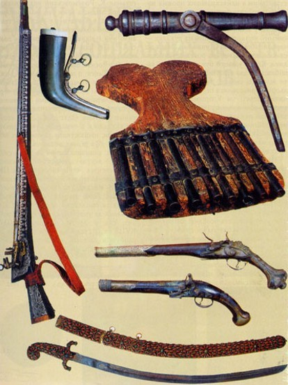 Image - Cossack weapons.