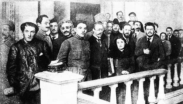 Image - Leaders of the Communist Party (Bolshevik) of Ukraine in 1918.