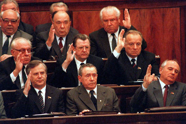 Image - The Politburo members of the Communist Part of the Soviet Union (1980s).