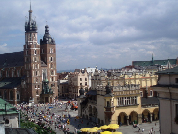 Image - Cracow: city center.