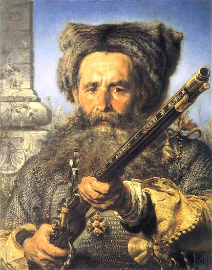 Image -- Ostafii Dashkevych (portrait by by Jan Matejko).