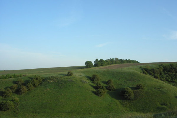Image - The Deivska Hill near Kremenchuk in the Poltava region.