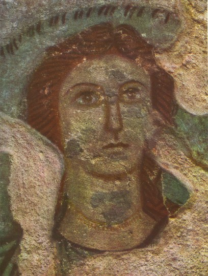 Image - The head of Demeter (Kerch, 1st century AD fresco).