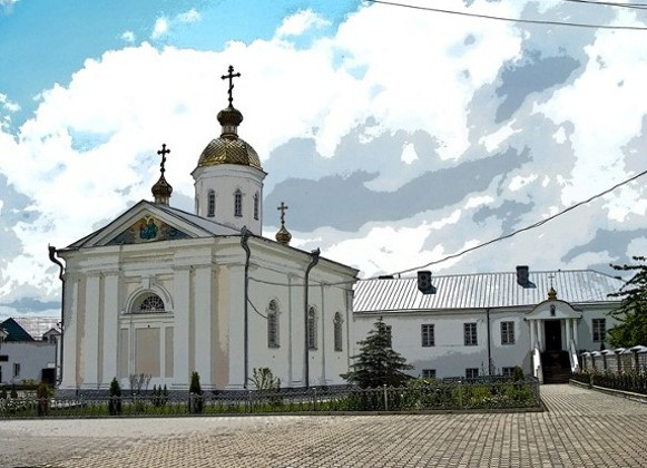 Image - Trinity Church in the Derman Monastery in Rivne oblast.
