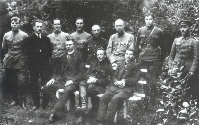 Image - Members of the Directory of the Ukrainian National Republic and the UNR Army (Kamianets-Podilskyi, July 1919).
