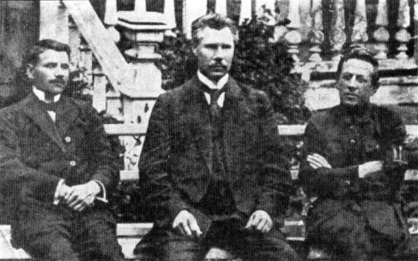 Image - Members of the Directory of the Ukrainian National Republic, A. Makarenko, F. Shvets, and S. Petliura (Kamianets-Podilskyi, 1919).