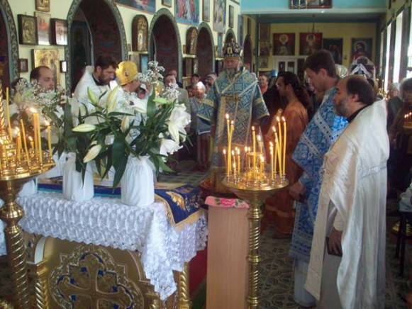 Image - Divine Liturgy celebration in Zhytomyr.