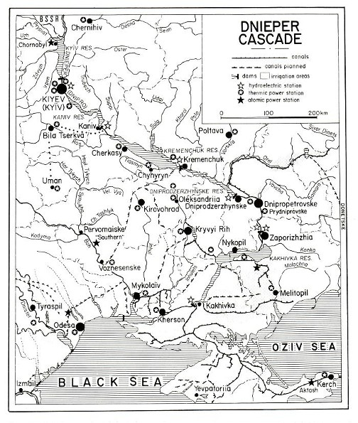 Image - Dnipro Cascade of Hydroelectric Stations