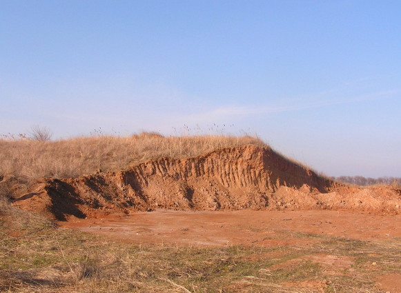 Image - The Dnipro Line: remnants of the Saint Peter fortress near Berdiansk.