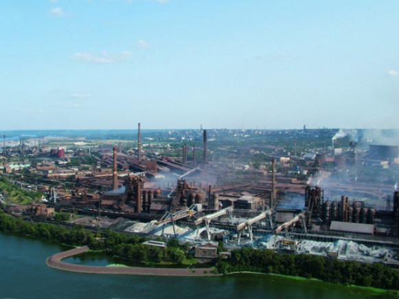 Image - The Dnipro Metallurgical Complex.