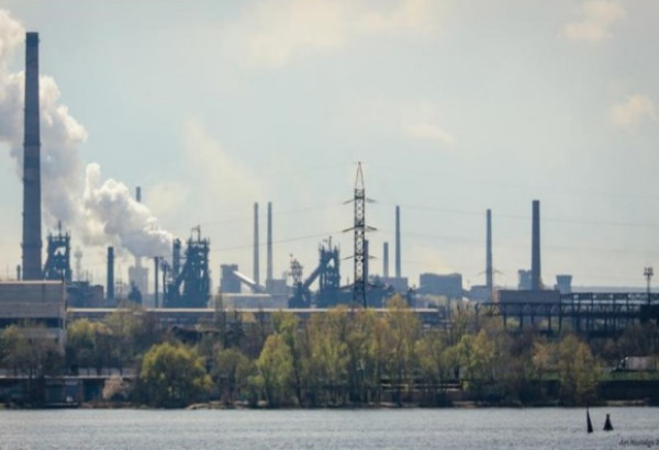 Image - The Dnipro Metallurgical Plant.