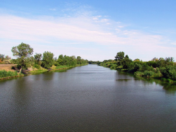 Image - The Dnipro-Donbas Canal in the Dnipropterovsk oblast.