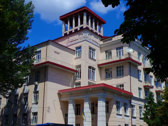 Image - Dnipropetrovsk Medical Academy (main building).